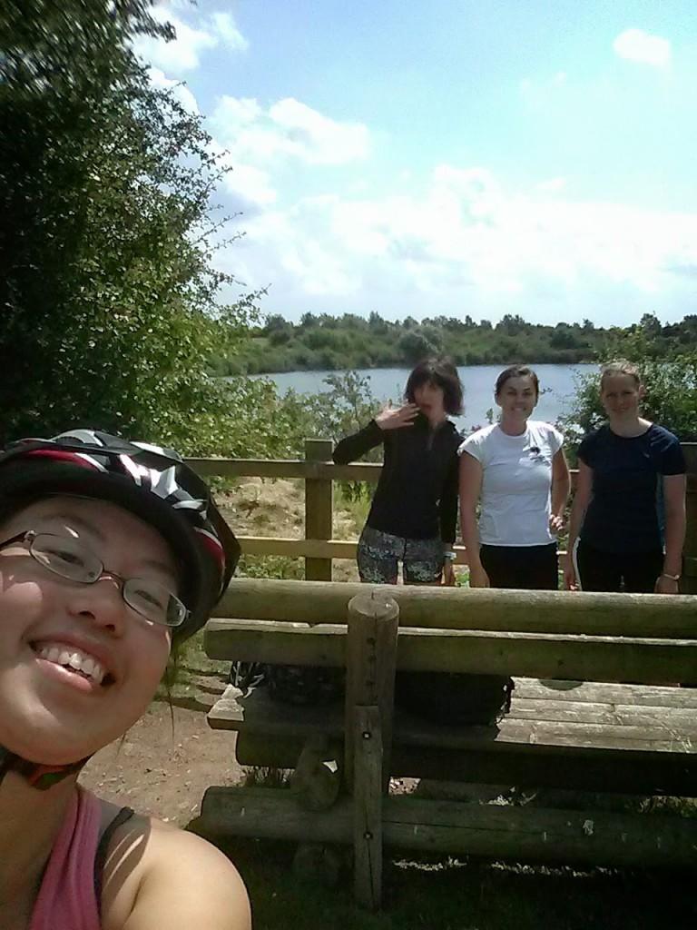 At Crown Lakes, outskirt of Peterborough